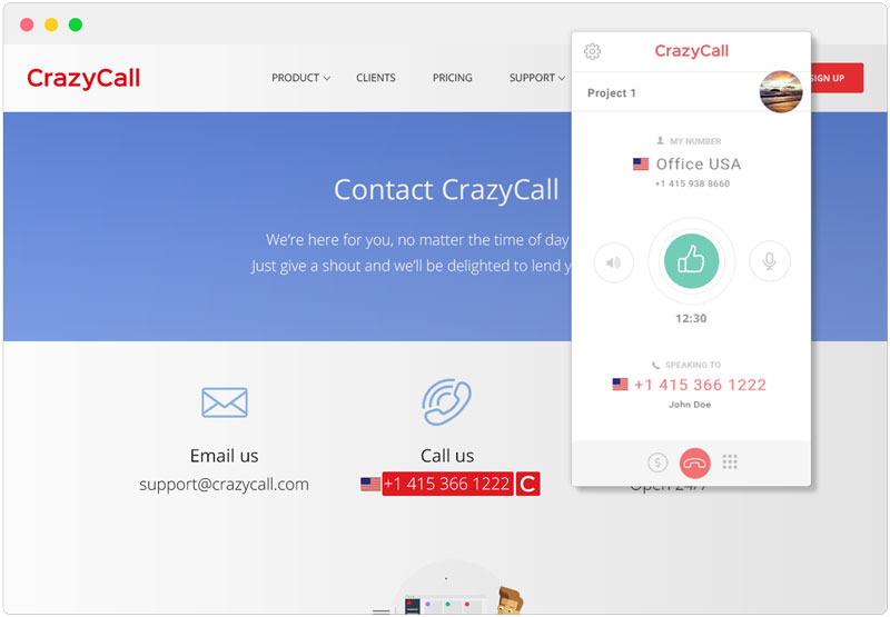What Is The CrazyCall Browser Extension? – CrazyCall Knowledge Base